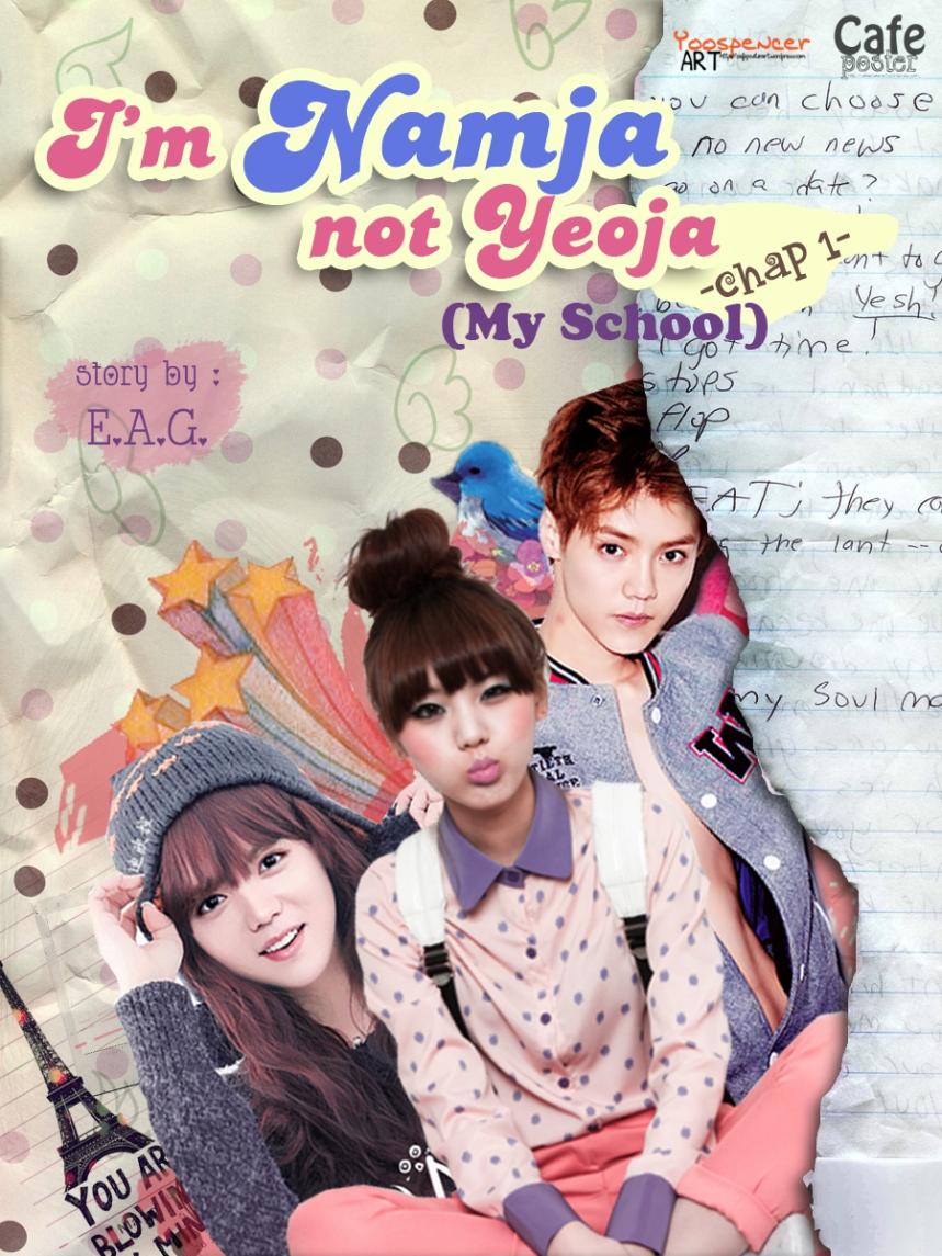 I'm Namja not Yeoja