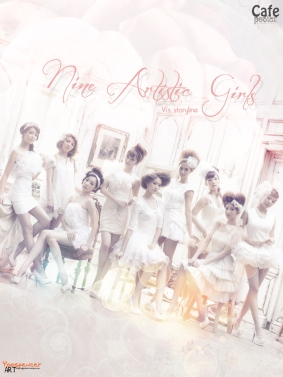 Nine Artistic Girls_calm
